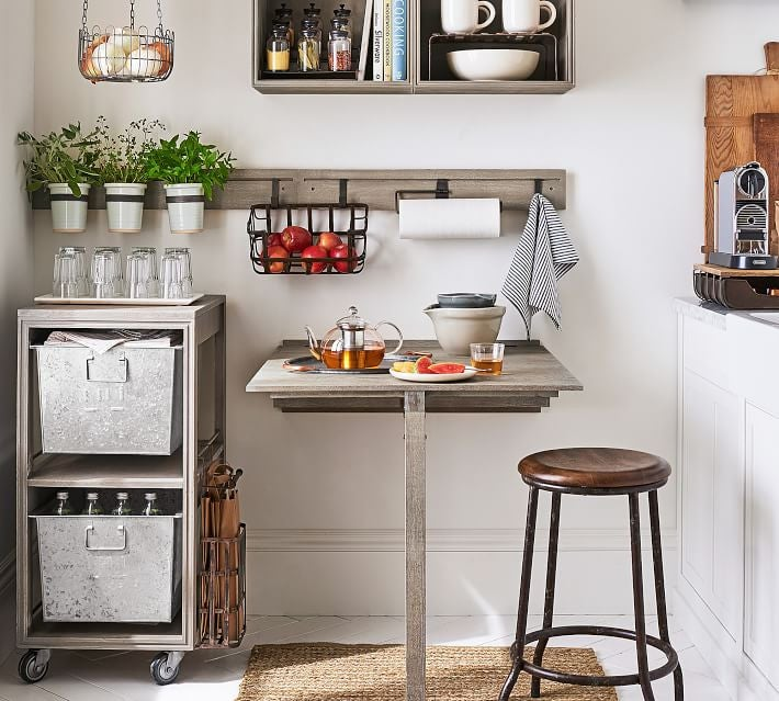 Picture of: Pottery Barn Pb Apartment Brand Launch 2018 Small Space Decor