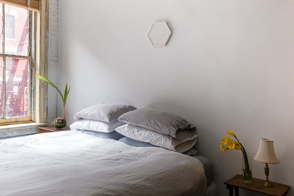 No Headboard Ideas Alternative Bedroom Decorating Domino