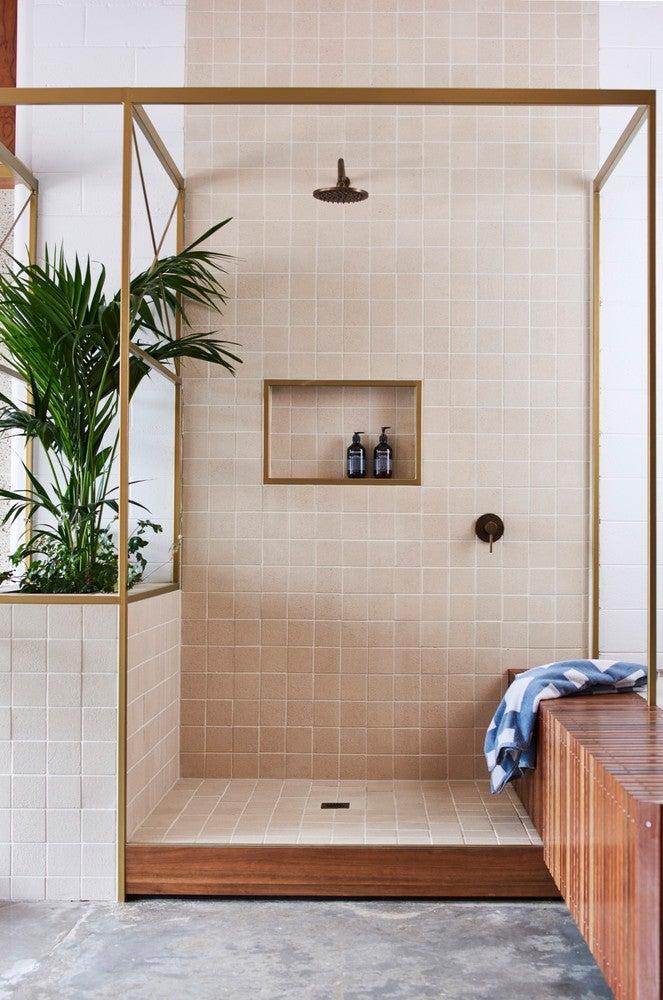 Penny Tiles Badkamer : Bathroom shower tile ideas and inspiration