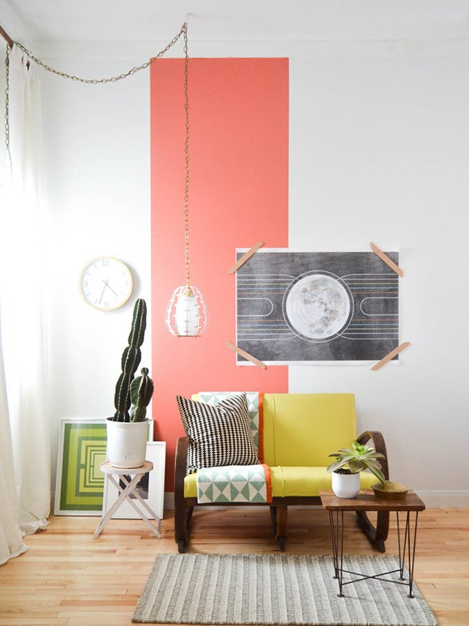 This Paint Trick Is the Cheapest Way to Refresh Your Living Room