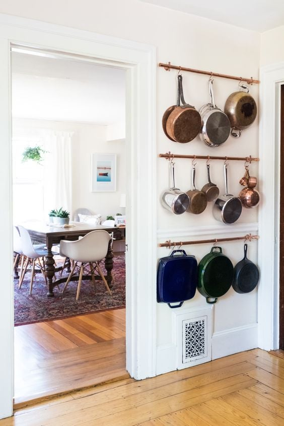 how to store ugly kitchen tools and appliances