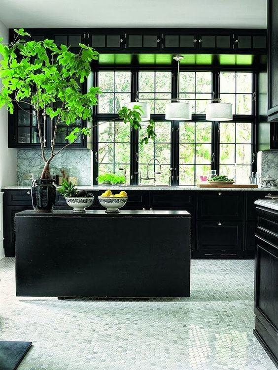black-kitchen-window
