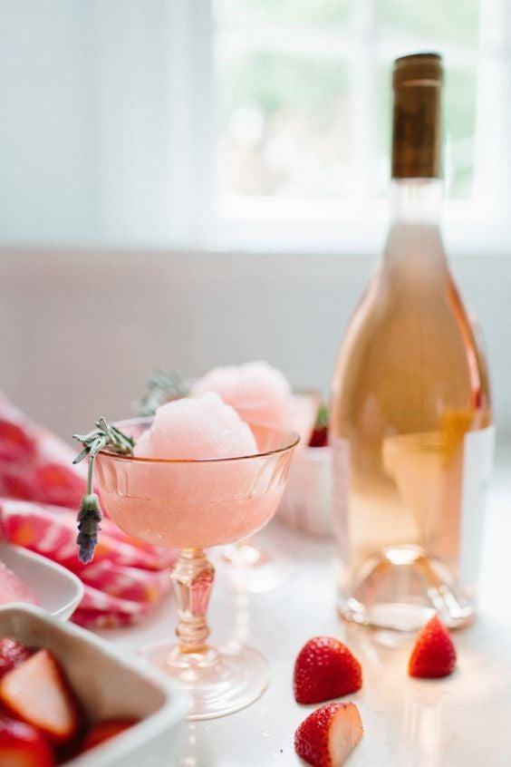 alcohol desserts