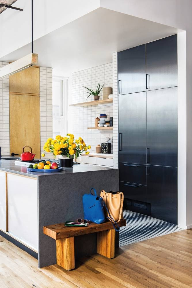 Kitchen Inspiration 2017: primary colors
