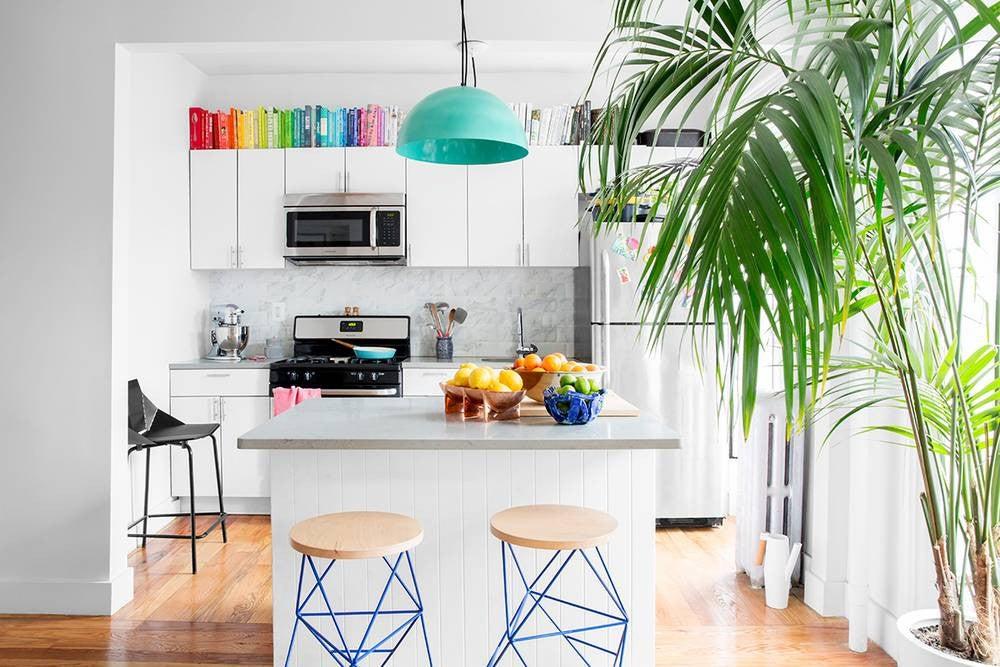 Kitchen Inspiration 2017: colorful kitchen