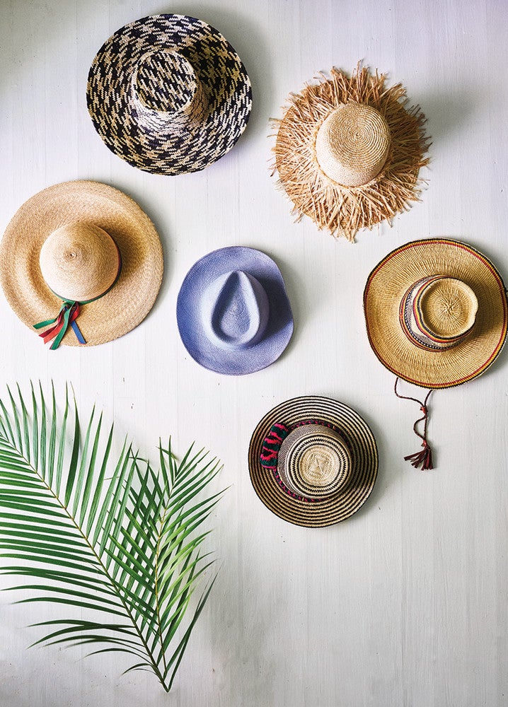 Trend We're Loving: Hats That Double As Wall Decor