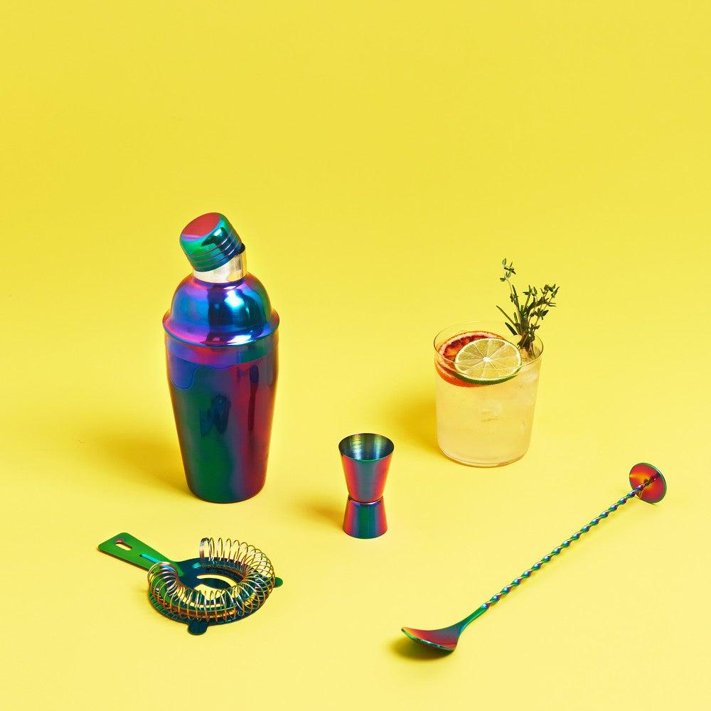 entertaining items mirage rainbow barware