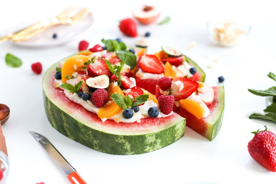 watermelon recipes for summer fruit dessert pizza