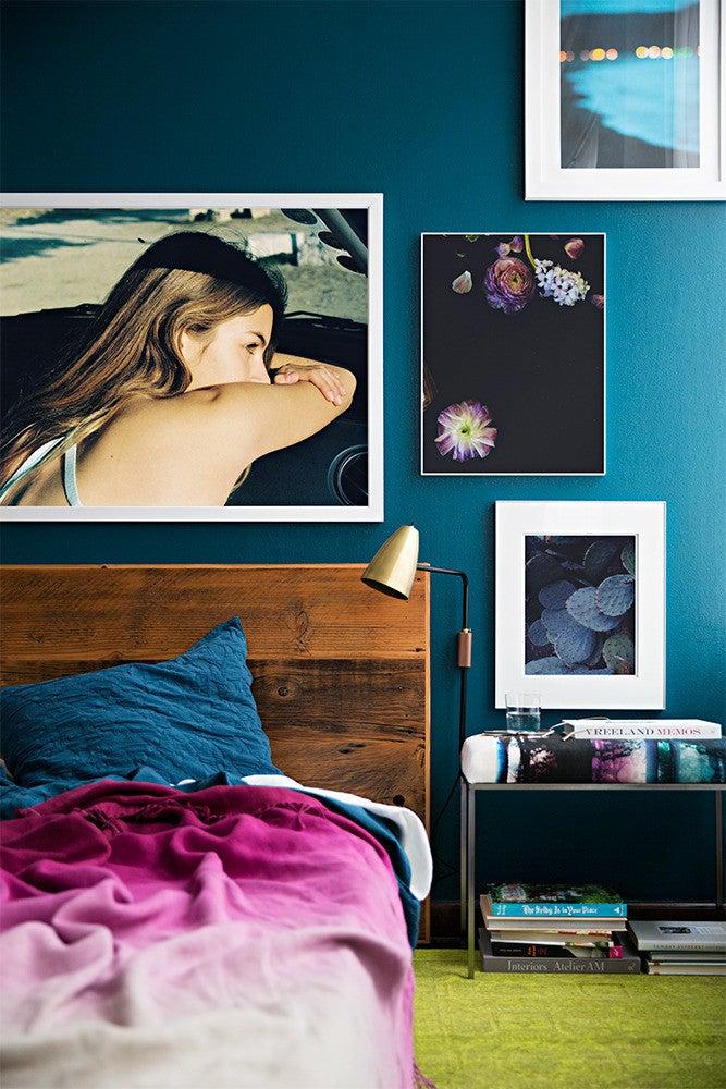 10 Teal Home Decor Ideas- jewel toned bedroom