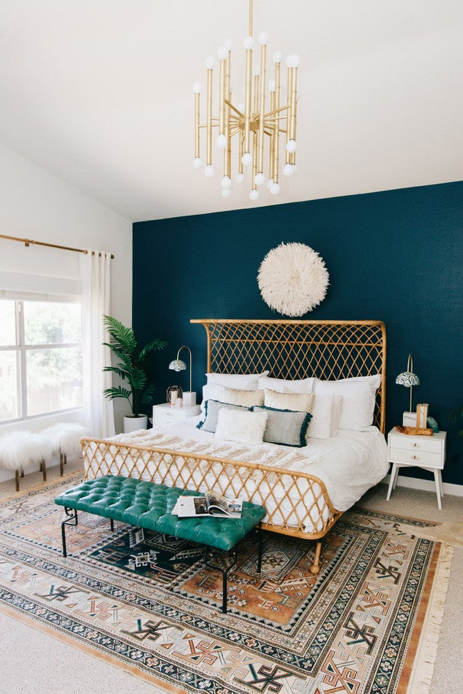 10 Teal Home Decor Ideas- master bedroom