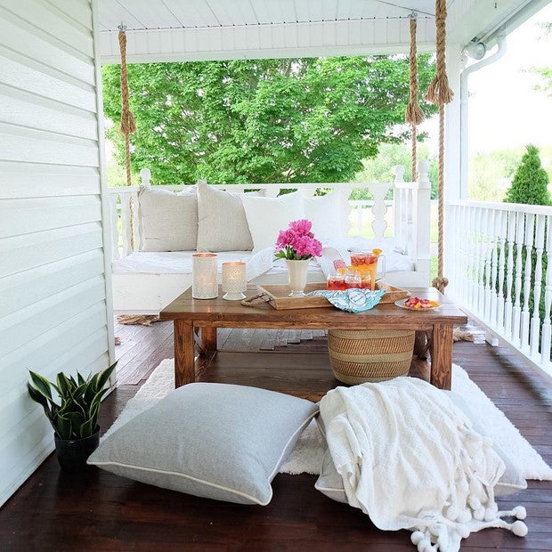 Outdoor Decorating Ideas For Summer - decorate your front porch