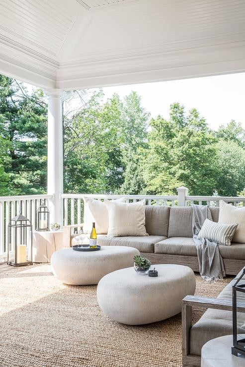 Outdoor Decorating Ideas For Summer - bring your furniture outside