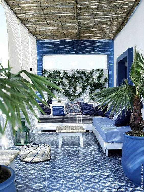 patterned tile grecian inspired