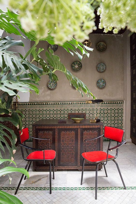 patterned tile moroccan magic