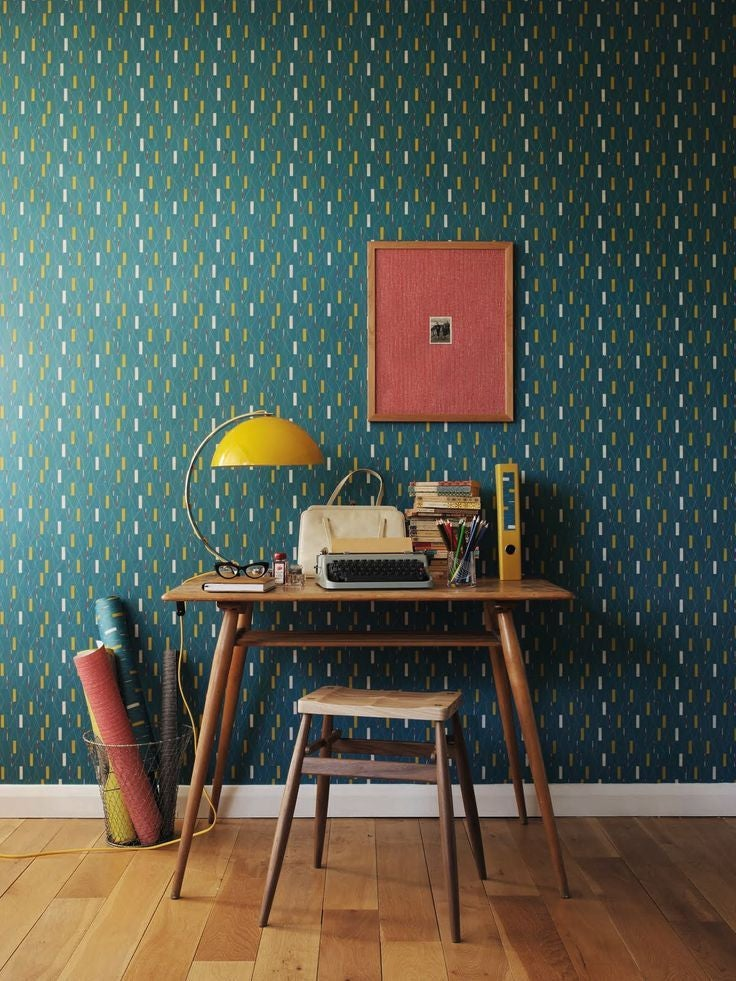 Wes Anderson Inspired Wallpaper Domino
