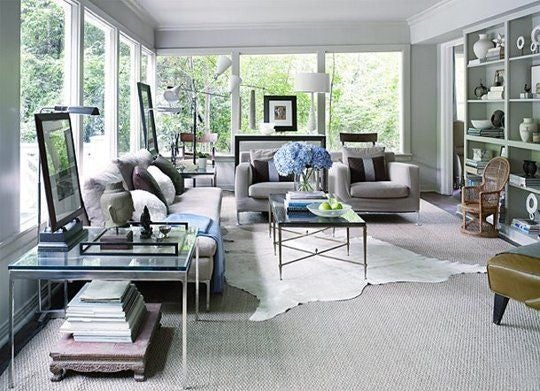How To Layer Rugs Domino