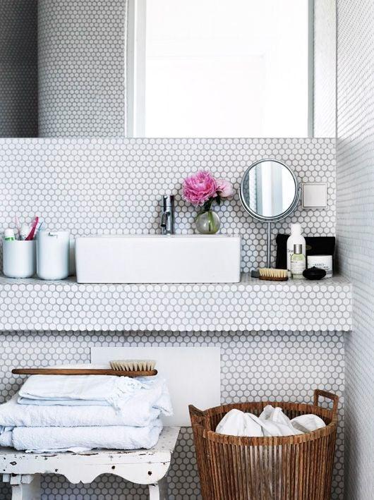 big ideas for tiny bathrooms