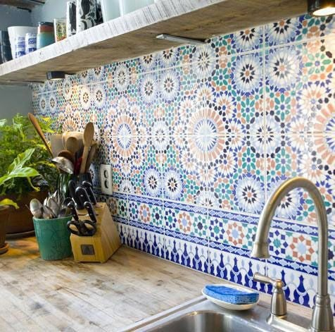colorful kitchen backsplashes for when white won't do
