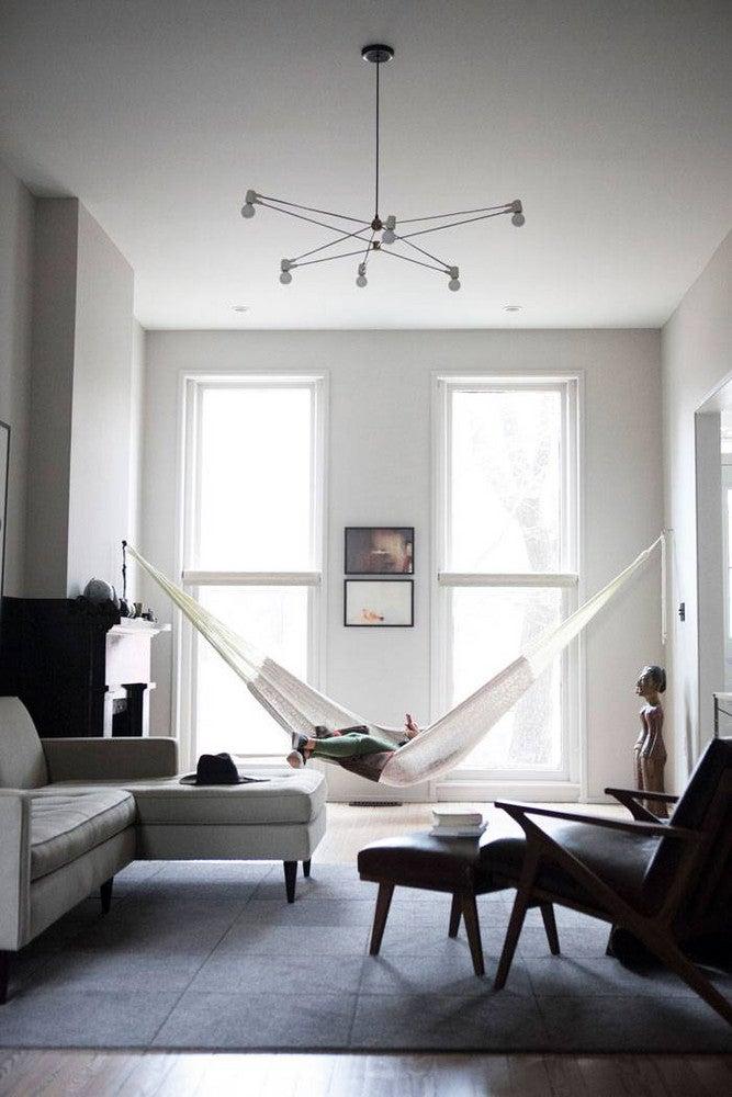 Hamacas de interior para relajarse dentro de casa