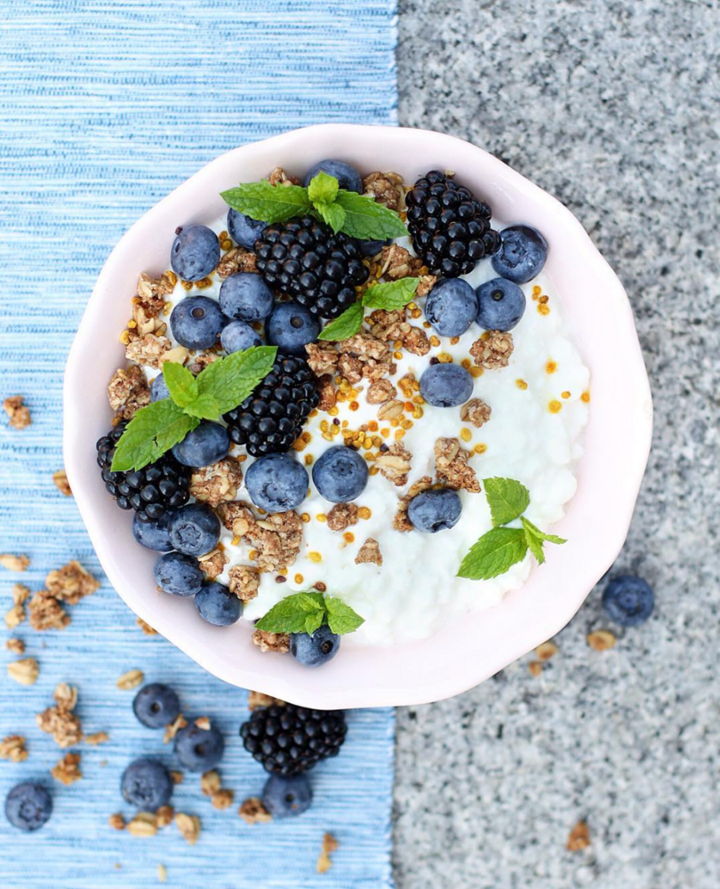 breakfast bowl recipes blueberry coconut breakfast bowl