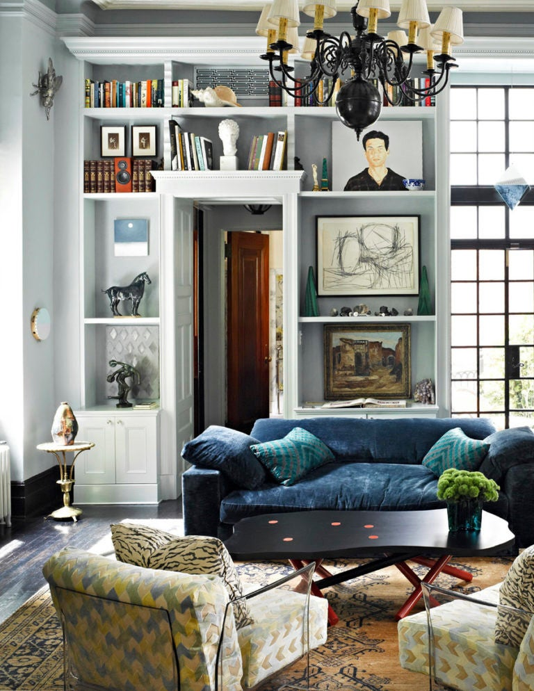 10 Times Navy Blue Textiles Made Us Love Boho Style | Domino