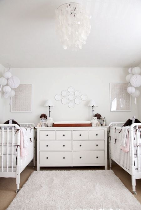 Twin Nursery Ideas Fit For Beyonce Domino