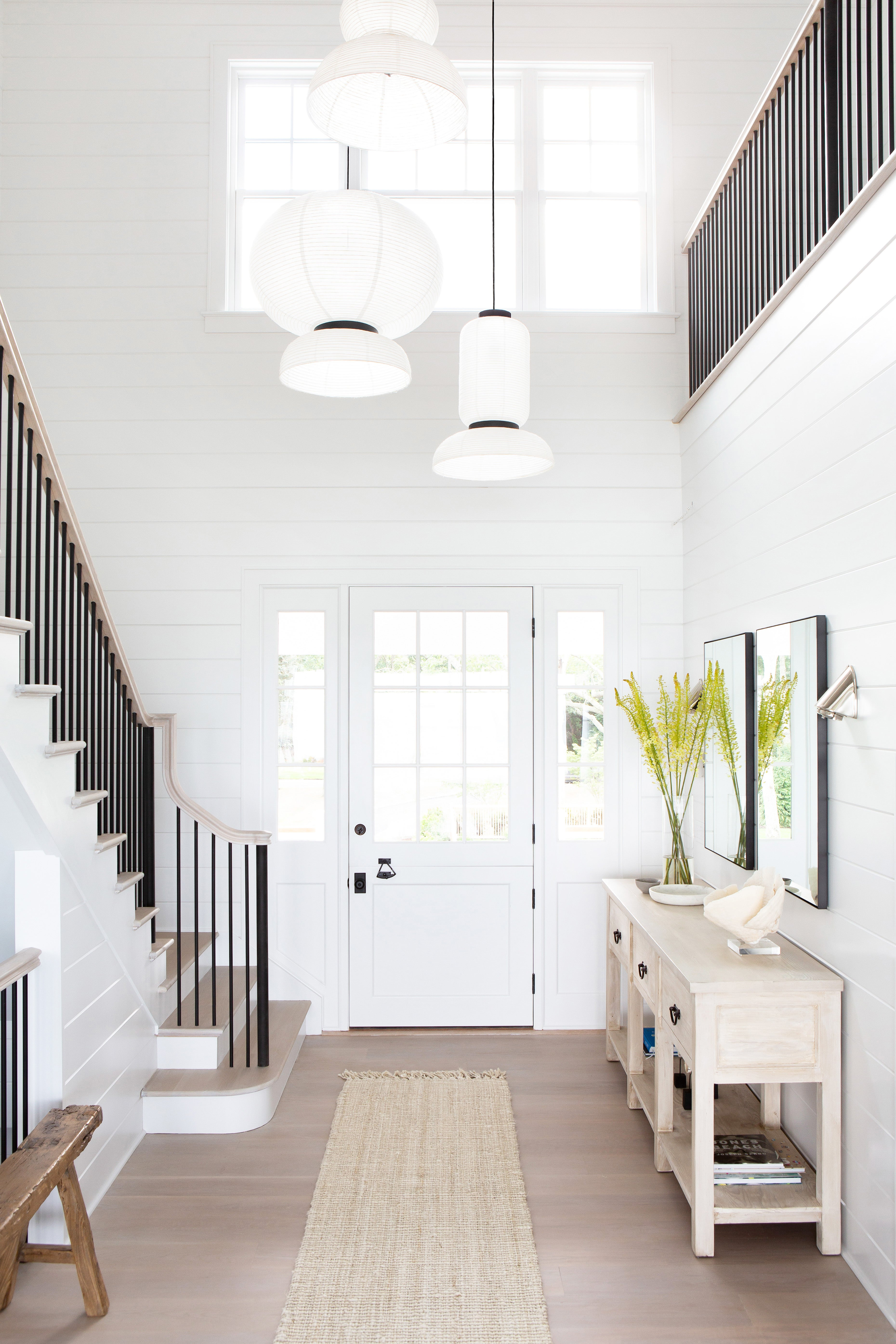 neutral colored entryway