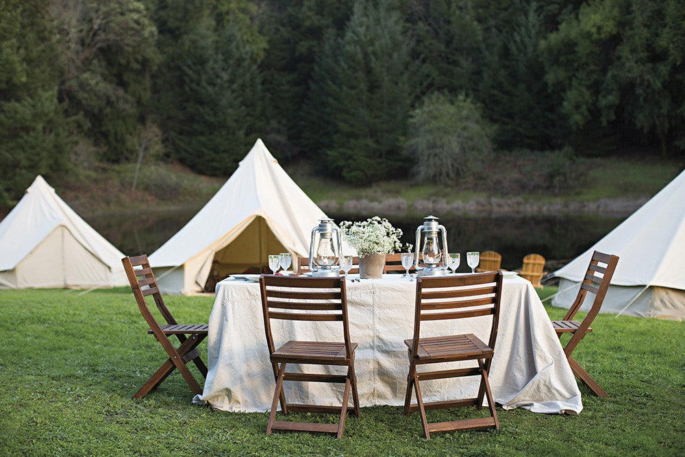 how to go glamping