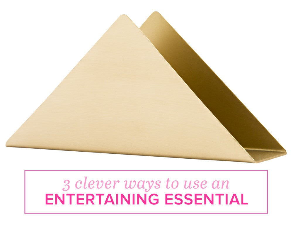 3 clever ways to use an entertaining essential