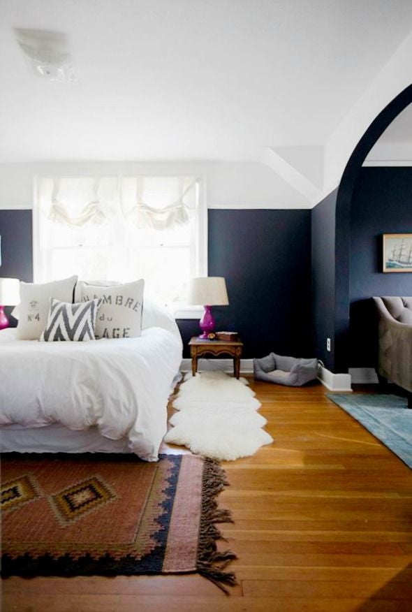 Two Color Wall Ideas And Inspiration For The Home