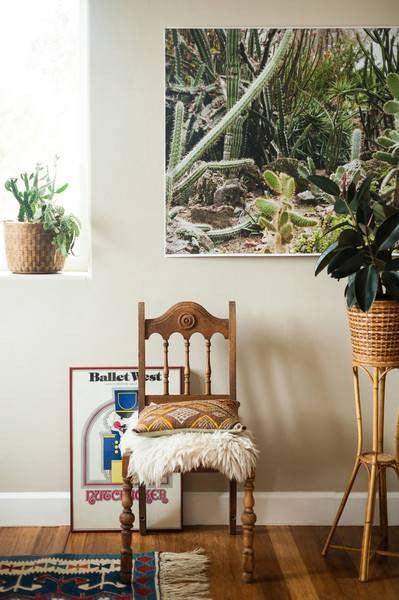 diy-large-wall-art-cactus-print