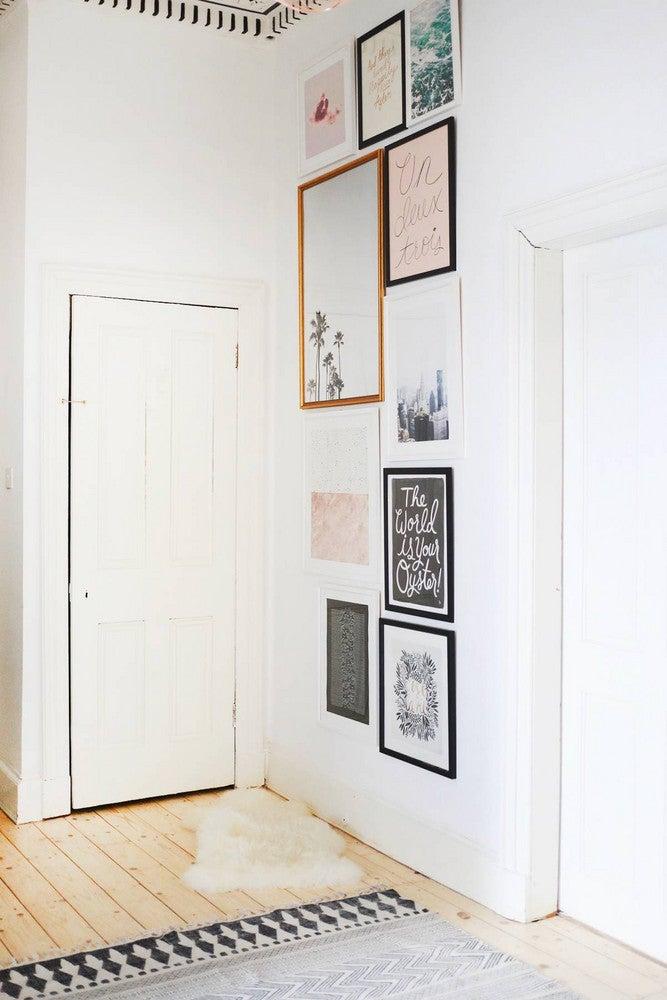 hallway-wall-ideas-tall-gallery-wall
