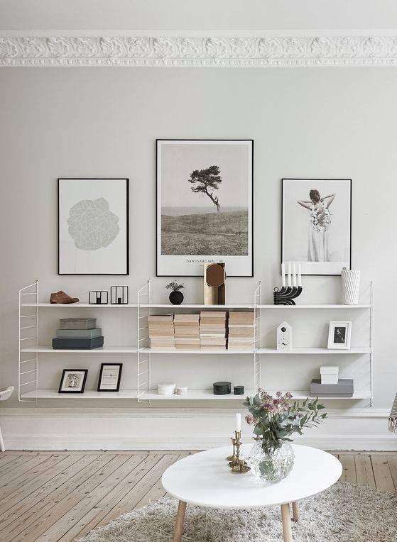 Feng Shui Living Room Decorating Tips white living room