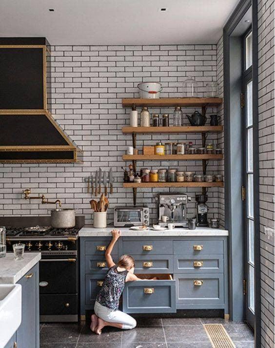 Vintage Kitchen Decor Ideas Domino
