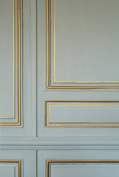 . Best Painted Wall Moulding Ideas   Domino
