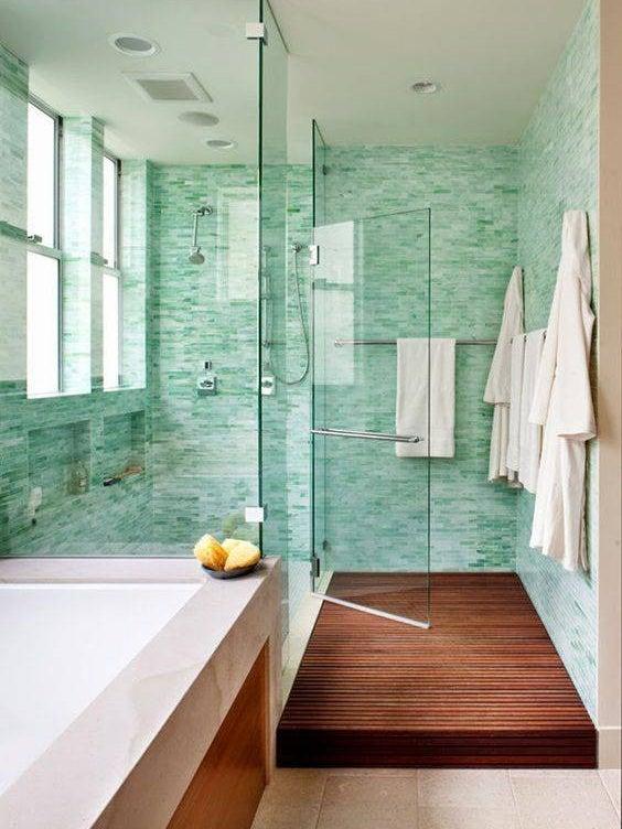 32 reasons why green tile is trending