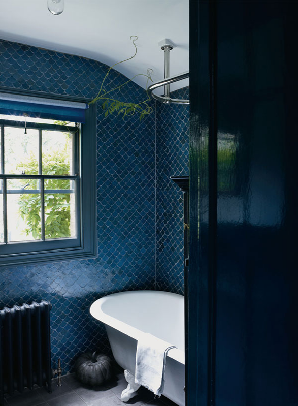 Photography By Apartmenttherapy Com Liz Thompson Moroccan Fish Scale Tile