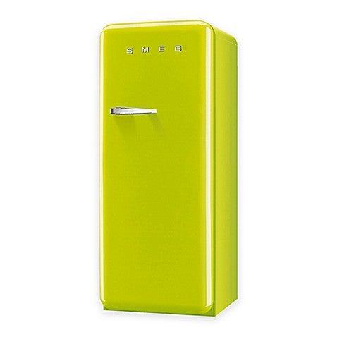 13- smeg lime green fridge
