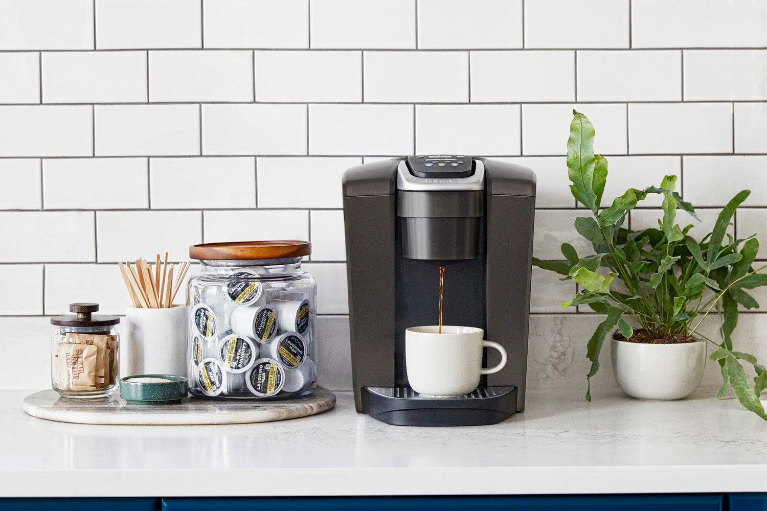 The Right Way to Style Your Coffee Nook