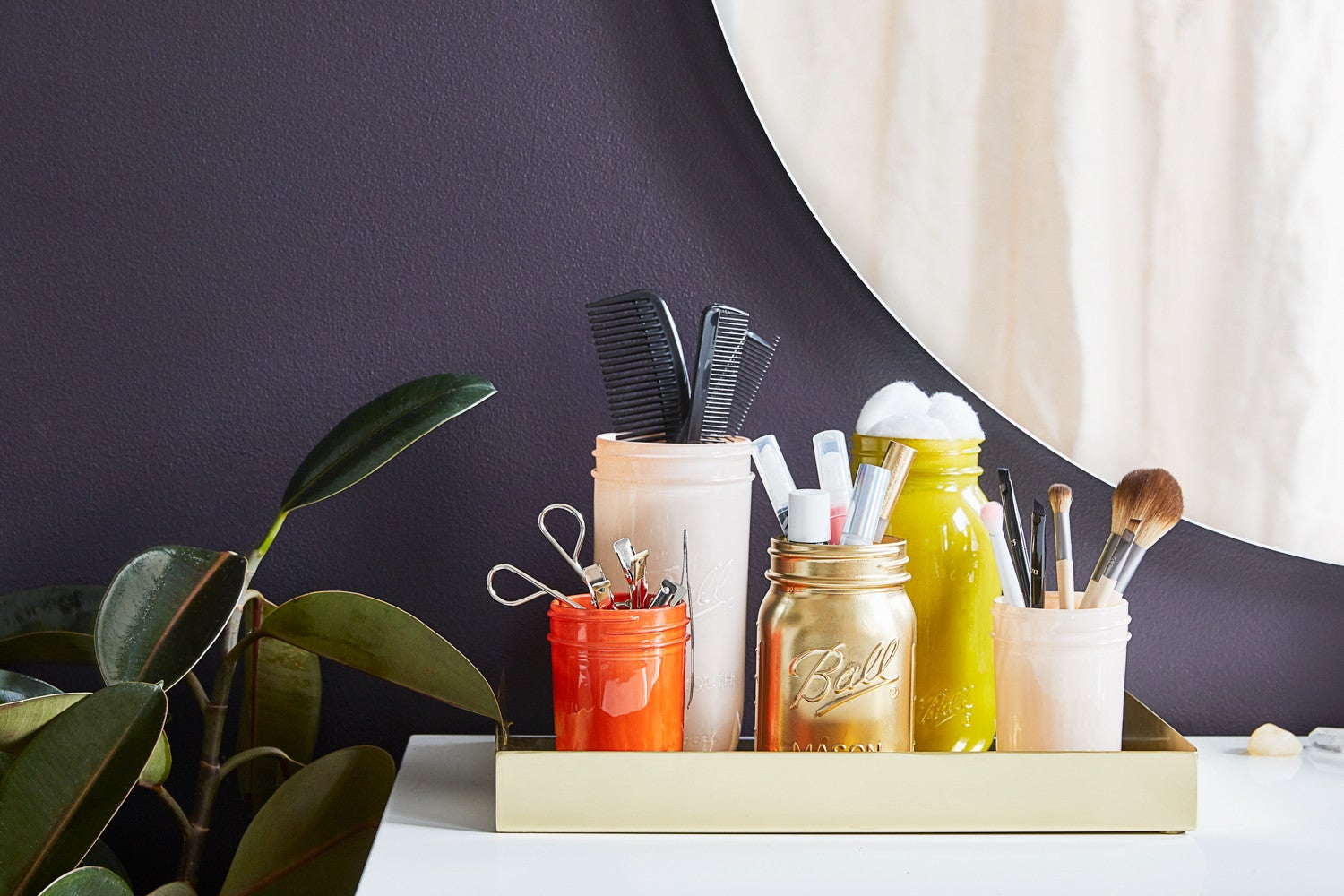 How to Finally Bring Order to Your Vanity