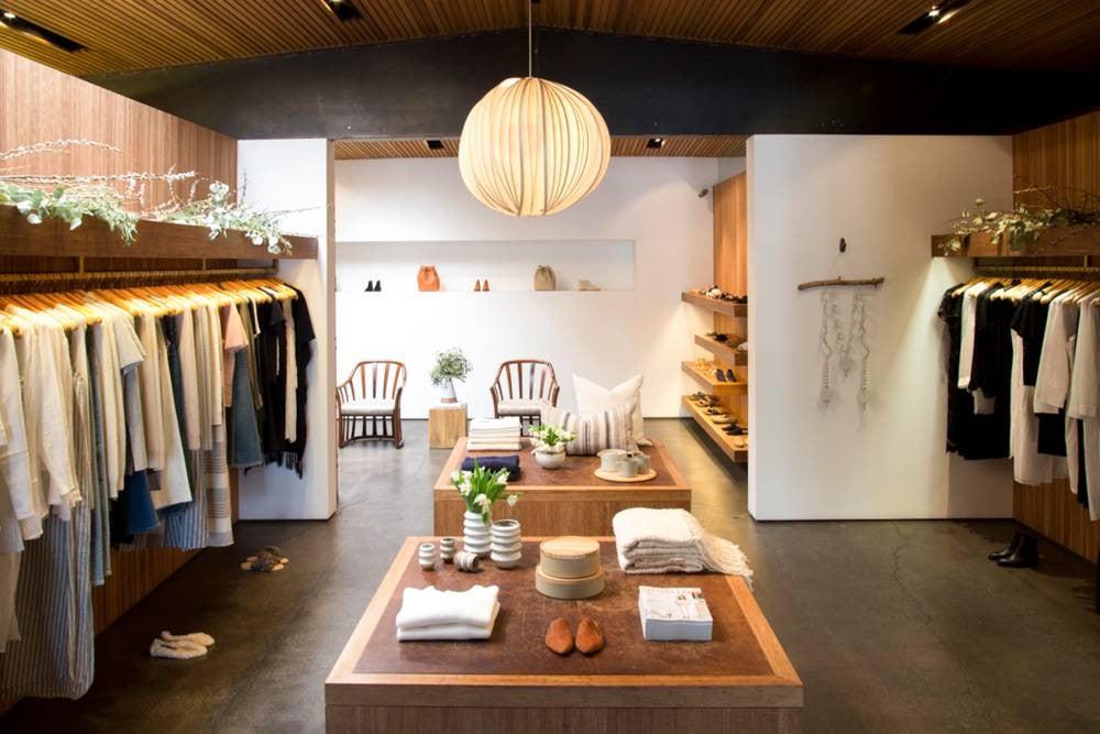 Wood Shop interior