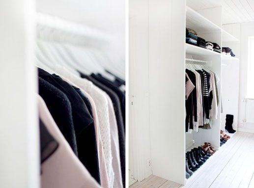 Doorless Closet Ideas