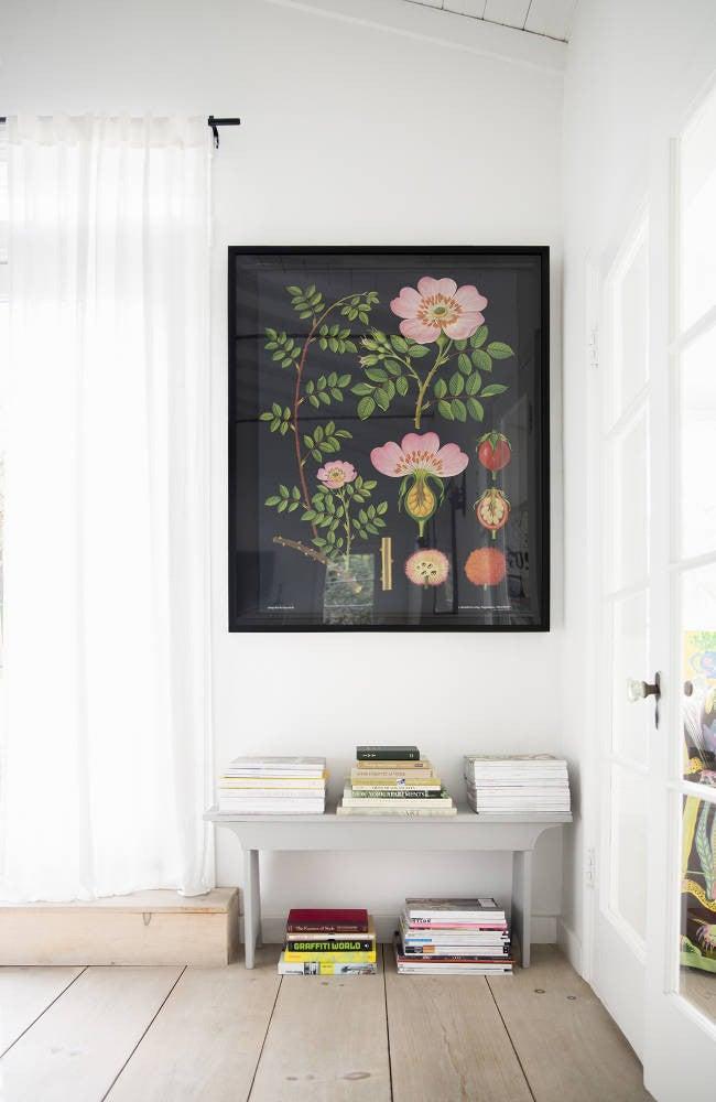 Anne Ziegler White and Black Hallway