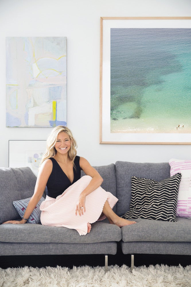 sally king-benedict: an artist inspires a family-friendly renovation