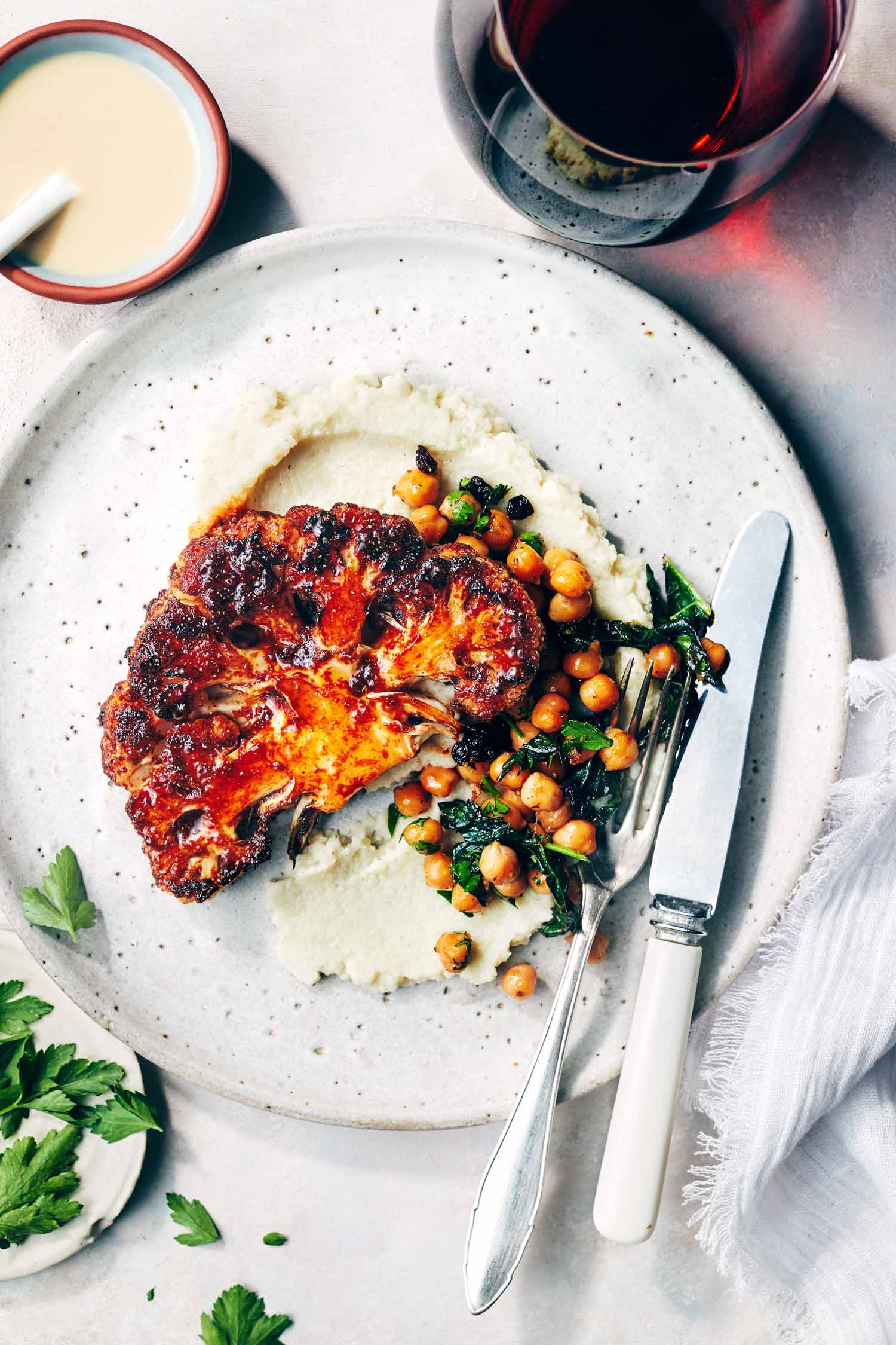 Harissa-Spiced-Cauliflower-Steaks-Evergreen-Kitchen-1