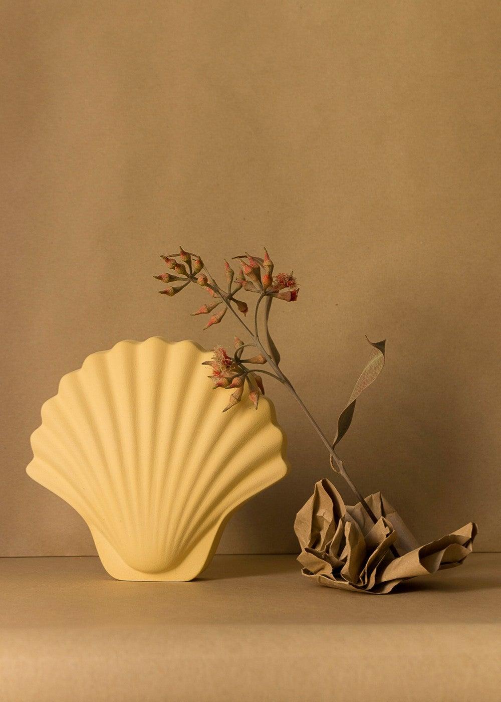 01- los objectivos decorativos seashell pot