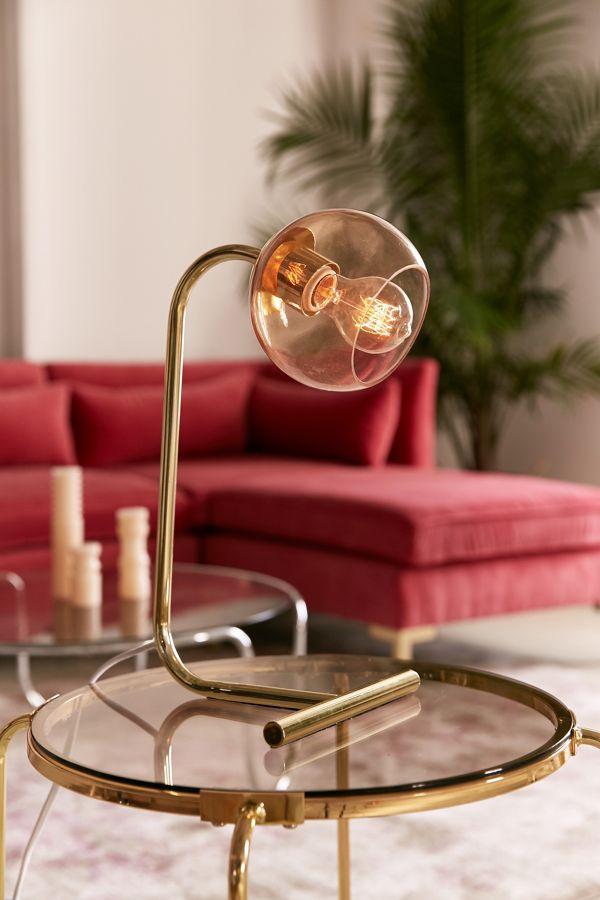 Bia Globe Desk Lamp-lead