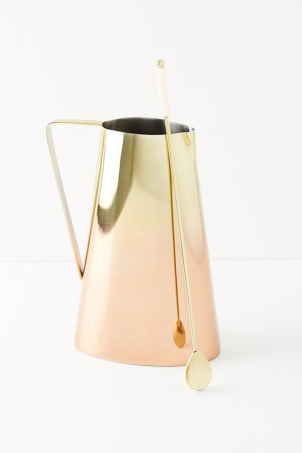 anthro jug and stirrer