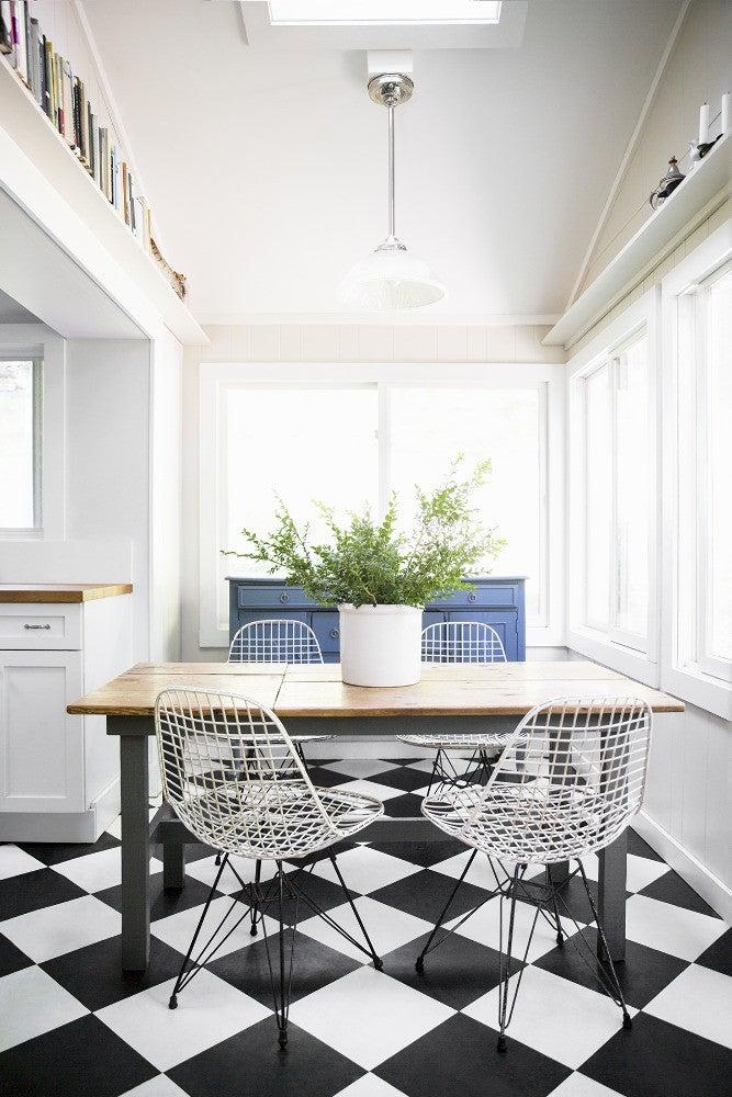 Checkerboard Kitchen Floor Ideas Retro Tile Trend
