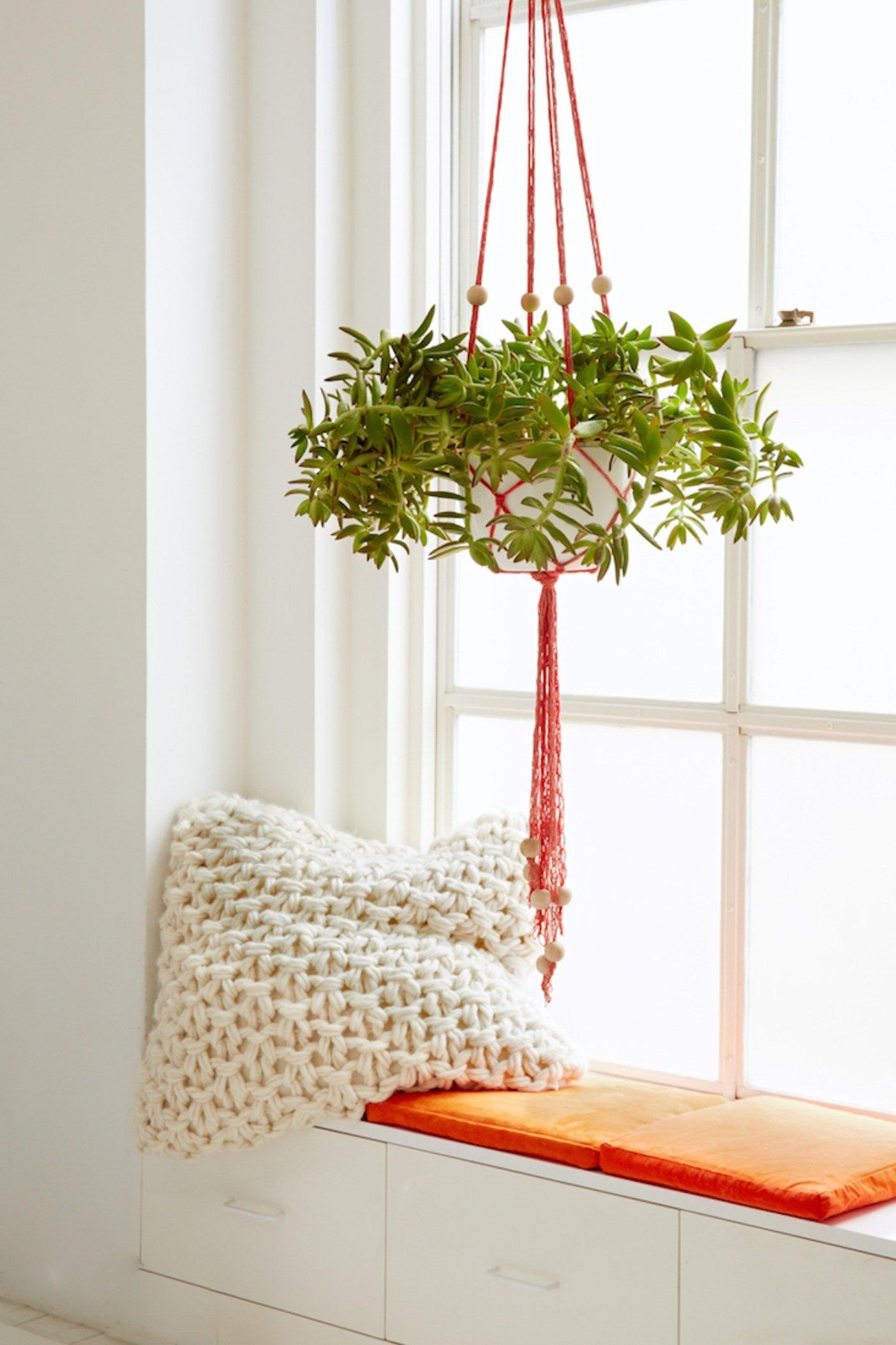FEATURE_Finger Knit Plant Hanger